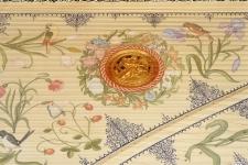harpsichord soundboard painting