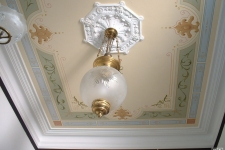 Victorian painted ceiling