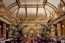 Garden Court leaded glass skylight