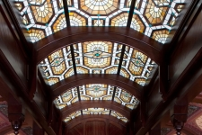 Victorian stained glass laylight