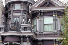 Victorian revival facade