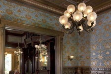 Gothic Revival Victorian Parlor