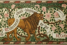 Walter Crane Wallpaper design