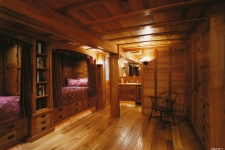 Southern cypress boat room