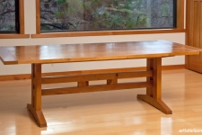 Craftsman-style side table