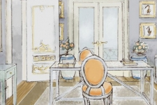 proposal for a Gustavian style study