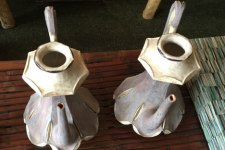 restored teapots