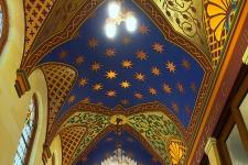 Exonarthex Ceiling at Old First Presbyterian Church, San Francisco