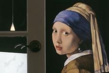 Vermeer Pearl Earring mural