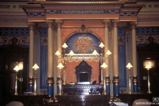 Rostrum fixtures at Michigan State House