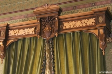 bay windown curtain valance
