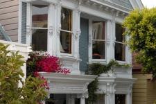 Edwardian style facade