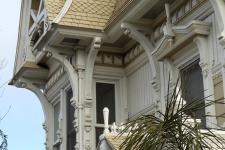Victorian fantasy facade detail