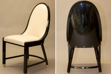Hoffmann-inspired chair