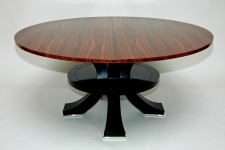 Deco Macassar Ebony, and Ebony table